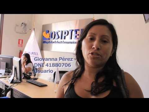 OSIPTEL Nueva oficina