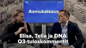 Elisa, Telia ja DNA Q3'18: tasaista menoa, korkojen nousu voi heikentää osinkojen houkuttelevuutta