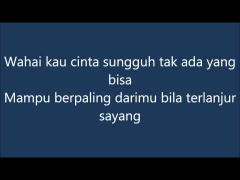 Radja -  Wahai Kau Cinta instrumental + lirik