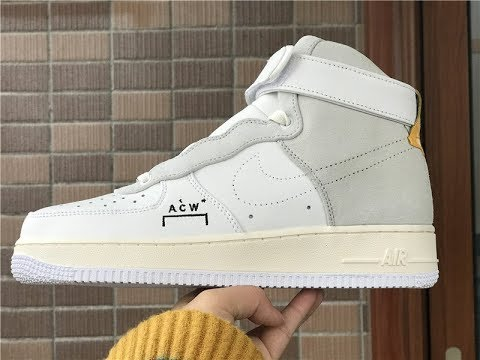 db81a314989 A COLD WALL X NIKE AIR FORCE 1 ACW FROM YEEZYSGO.ME - YouTube