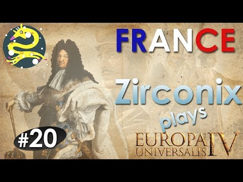 BUILDING AN ARMY WORTHY OF... FRANCE! - Let's Play EU4 France #20