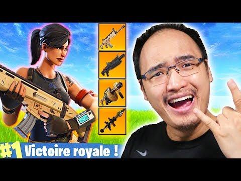 VICTOIRE ROYALE LÉGENDAIRE !   Fortnite Battle Royale