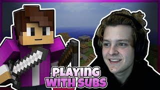 Грати В Minecraft З Субтитрами!! + Будуємо місто!! *Інтерактивні Стример*
