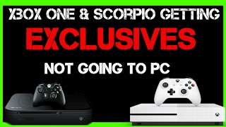Whoa! Phil Spencer Says Xbox One & Scorpio Will Get Exclusive Games Not On PC, And PC Exclusives!