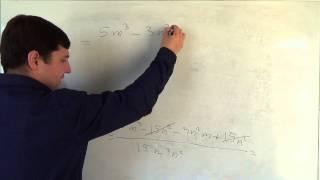 Алгебра 8 класс. 27 сентября. Сложение и вычитание алгебраических дробей с разными знаменателями #6