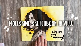 what Sketchbook Should you Get? A Moleskine Watercolor Review!!