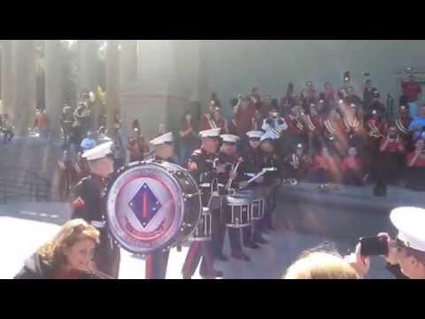 1st Division Marine Drumline challenges LHS