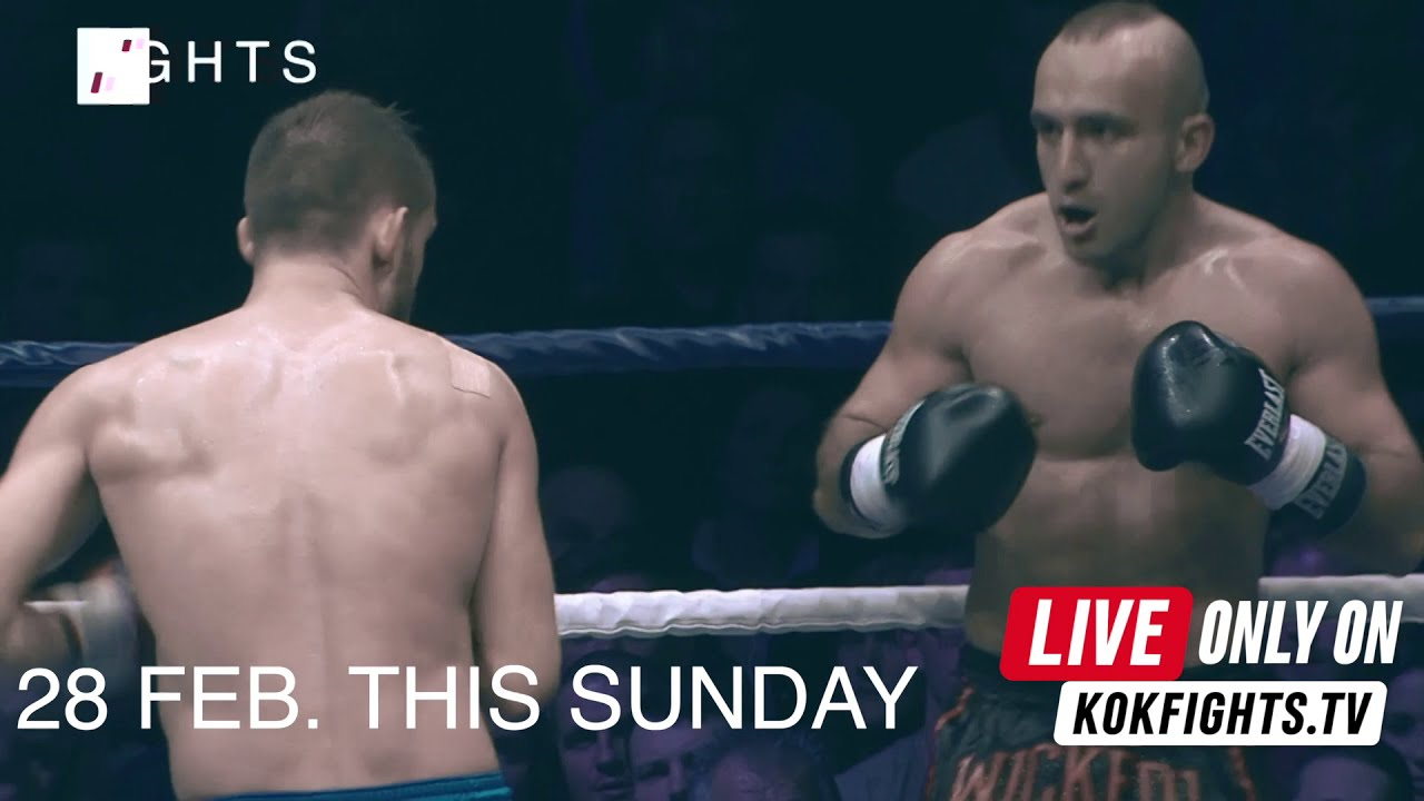 28 FEB. THIS SUNDAY LIVE on KOKFIGHTS.TV