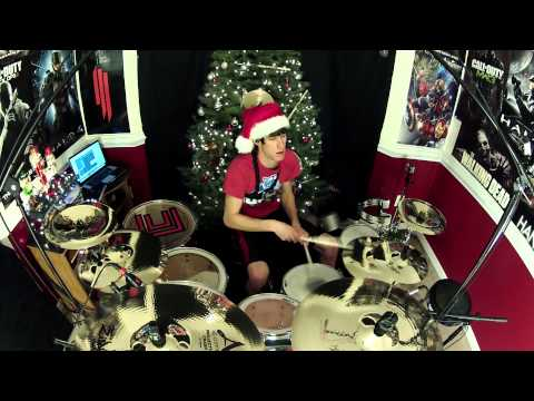 The Piano Guys - Carol of The Bells / God Rest Ye Merry Gentlemen - Drum Cover - #ARCC Day 3