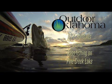 DIY Softbaits And Bass Fishing On Pine Creek Lake, Oklahoma