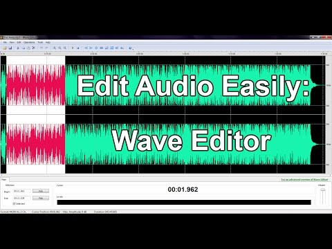 Edit Audio Easily:Wave Editor