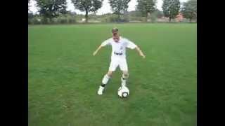 He plays like Cristiano Ronaldo