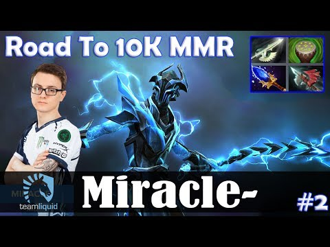 Miracle - Razor MID | Road To 10K MMR | Dota 2 Pro MMR  Gameplay #2