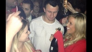 Johnny Manziel thrown out of UT frat party