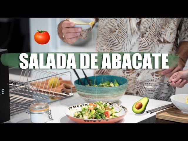 Salada de Abacate | Dr Hugo Madeira e Tâmara Castelo