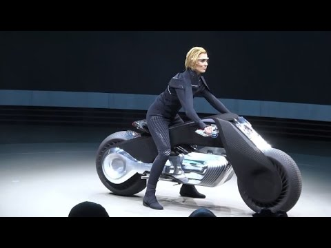 bmw presents its self-balancing motorcycle of the future - youtube