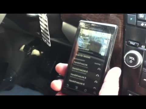 Acura MDX Bluetooth Pairing