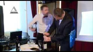 вино из винограда, выращенного в Абхазии уже на прилавках магазинов!