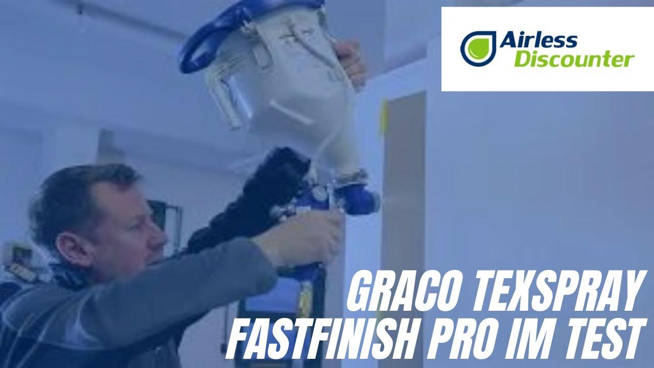 Relativ Graco TexSpray FastFinish Pro im Test – Airless Discounter CW93