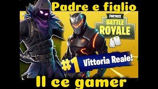 FORTNITE VITTORY REAL PADRE AND GOLD MASSICCIO 2.0