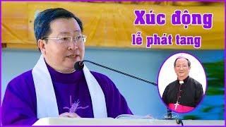 Xúc động - Bài giảng lễ phát tang -  Đức Tổng Giám mục Phaolô Bùi Văn Đọc