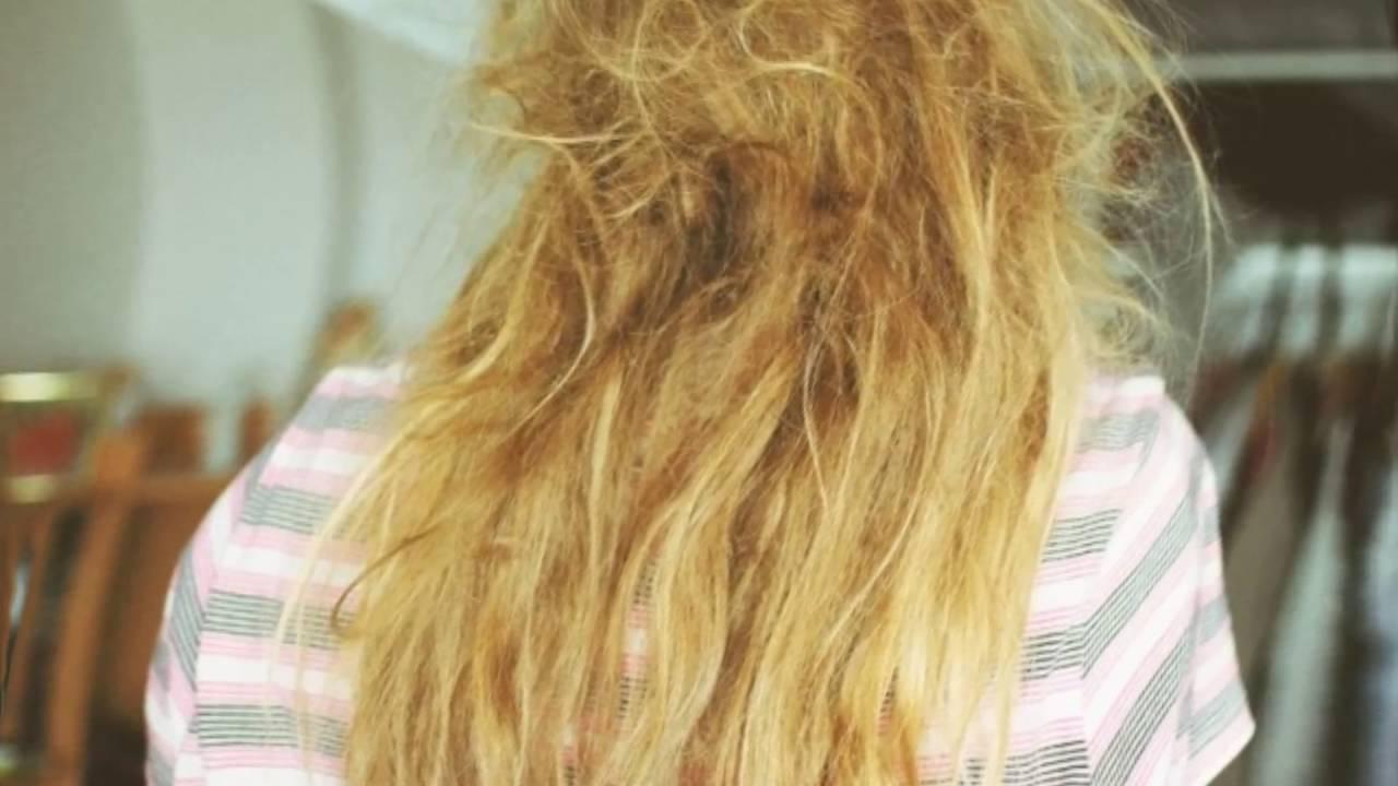 Волосы спутанные