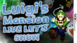 🔴 LUIGIS MANSION 👻 Die erste Spielstunde der 3DS-Version im Livestream