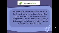 Federal Tax Lien Records