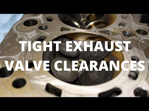 Common Problems - Tight Exhaust Valve Clearances | Honda