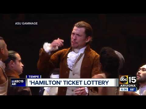 'Hamilton' Tickets: How To Sign Up For ASU Gammage's Lottery