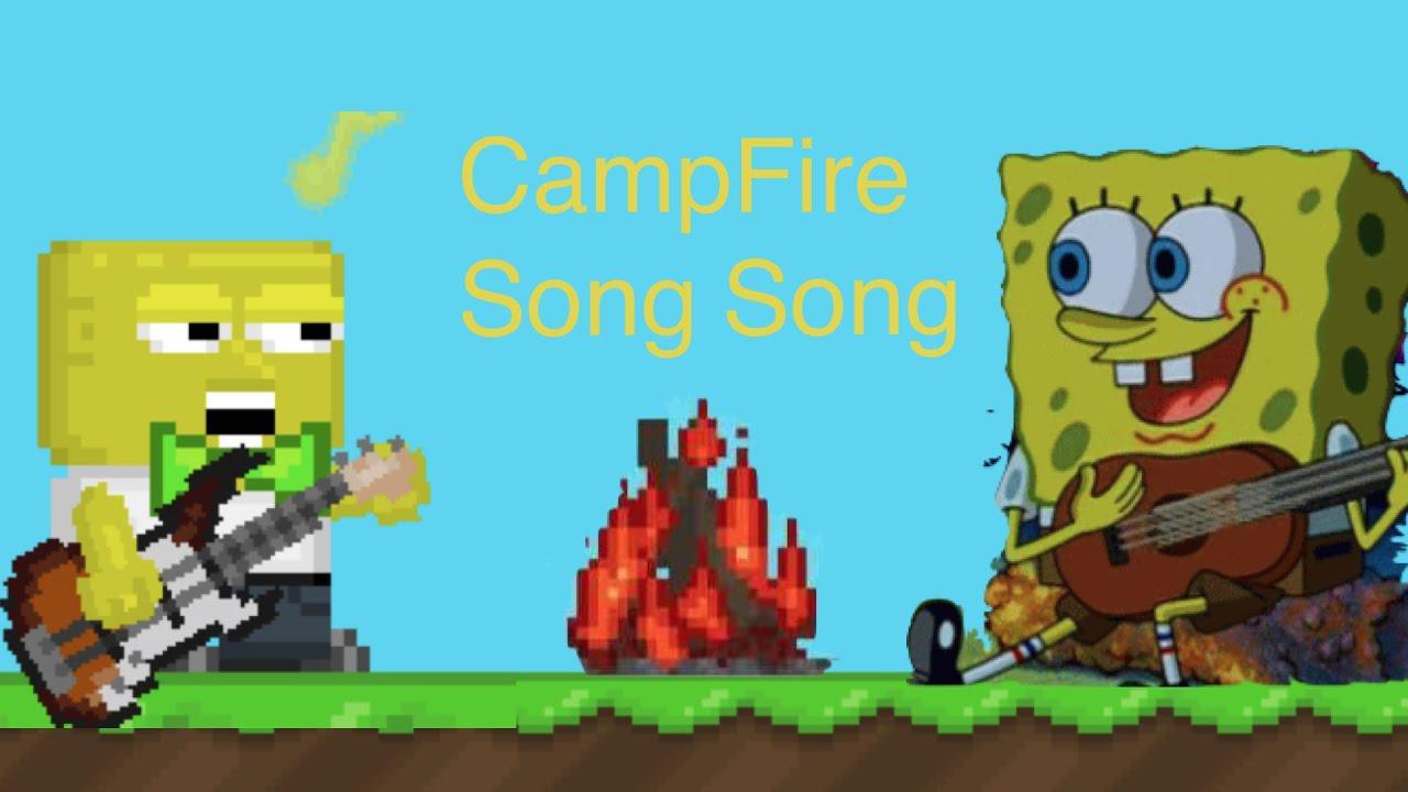 Spongebob Campfire - Year of Clean Water