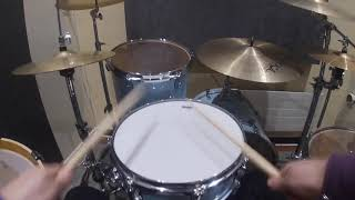 natural Imagine dragons first person drum cover Video