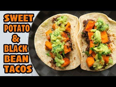Sweet Potato & Black Bean Tacos {Vegan & Gluten-Free, 30-minute Meal}