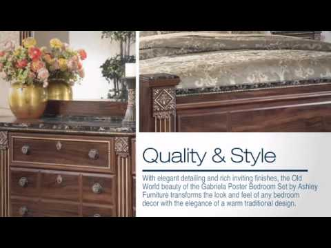 Gabriela Poster Bedroom Set From Ashlay