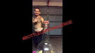 BLESSED'S BOTTLE CAP CHALLENGE - #BOTTLECAPCHALLENGE | СБЕЙ ПРОБКУ С РАЗВОРОТА ЧЕЛЛЕНДЖ