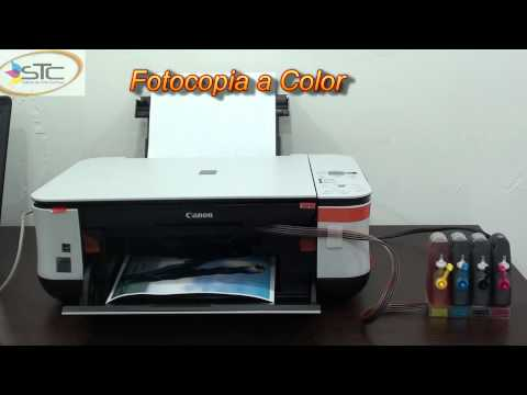 Impresora Canon Pixma MP250 Con Sistema de Tinta Continua STC