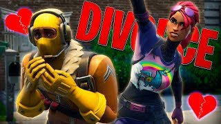 LITTLE KELLY Y RAPTOR OBTENGA UN DIVORCE - Fortnite Short Film