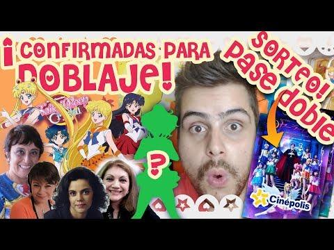 Elenco definitivo Sailor Moon Crystal Latino + Sorteo Boletos para el Musical | Danichuy