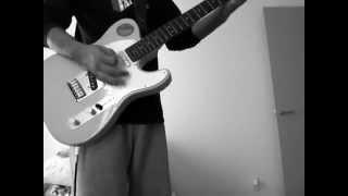 バックホーンのコバルトブルー ギターコピー.