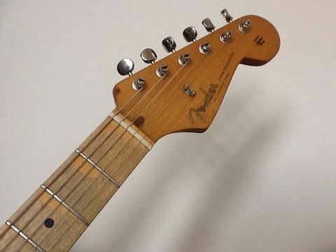 Stratocaster neck installation & setup