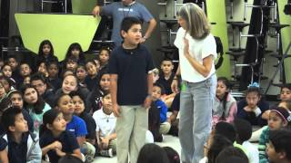 Dogs Of Character Visit Ben Milam Elementary School