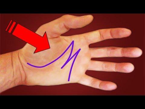 """¿Sabes cual es el significado de la letra """"M"""" en tus manos? Estás muy Lejos de Saber lo"""