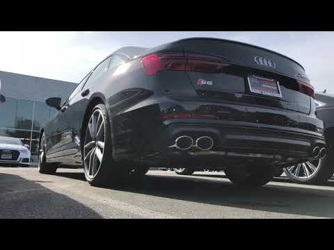 The 2020 Audi S6 SOUNDSSS SO GOOD !! Review And Walk Around !