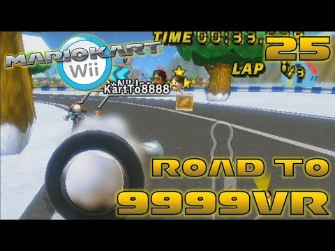 Instant Karma! - Road to 9999vr Ep 25 - Mario Kart Wii Wiimm