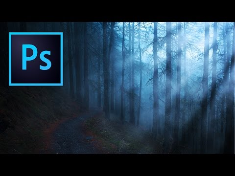 How to Create Light Rays in Photoshop