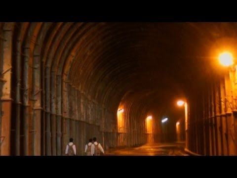 Journey through a tunnel in Uttarkashi