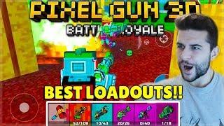 THE MOST INSANE END GAME! BEST LOAD-OUTS BATTLE ROYALE CHALLENGE! | Pixel Gun 3D screenshot 2