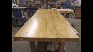 Build a Butcher Block Countertop on a Budget