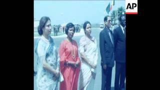 SYND 23 3 81 BANGLADESHI PRESIDENT ZIAUR RAHMAN VISITS