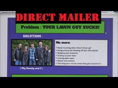 Direct mail flyers